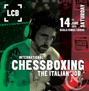 June 14 - 'The Italian Job' International Chessboxing Spectacle
