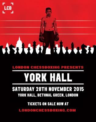 LCB York Hall event