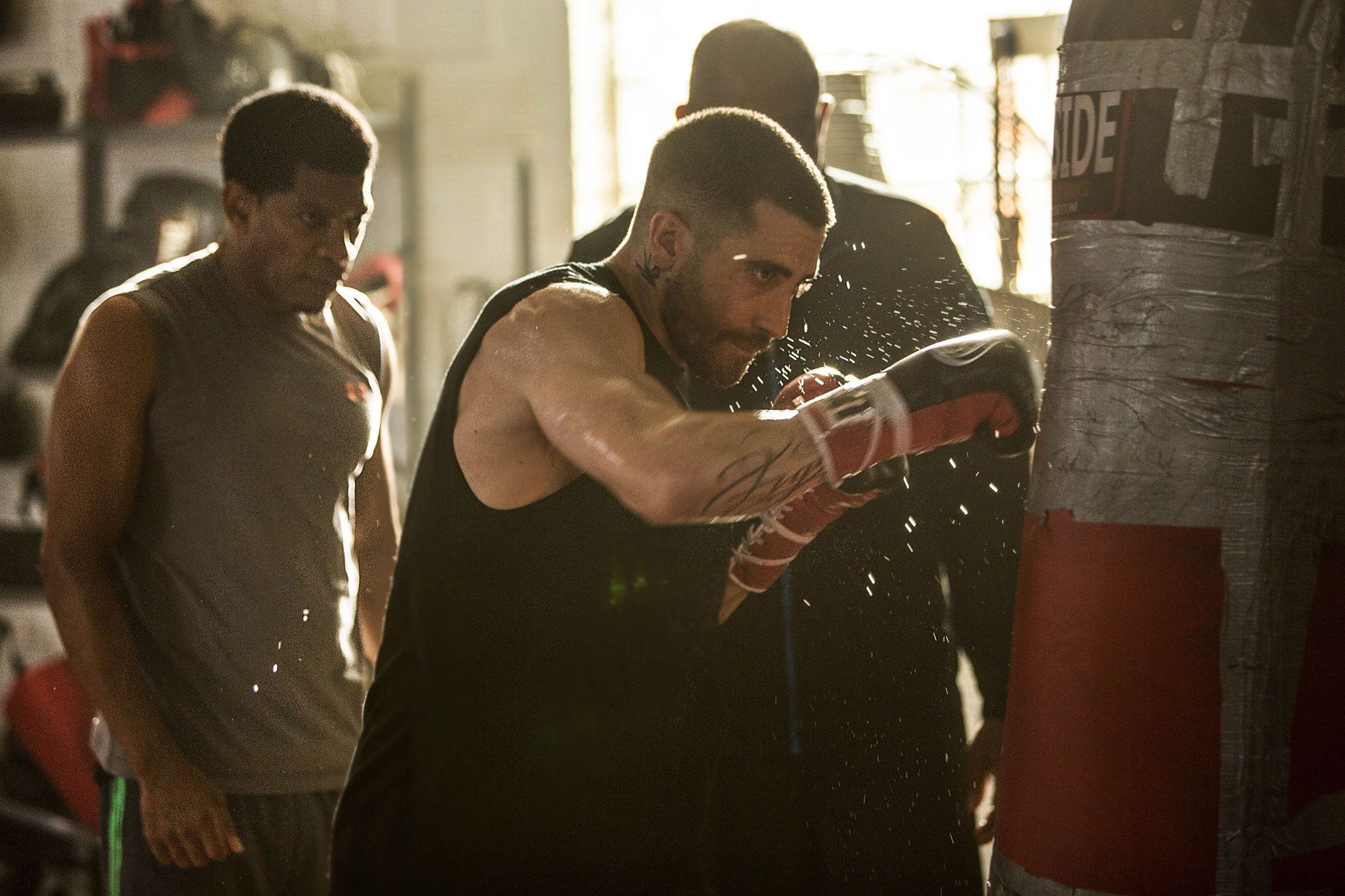 "Jake Gyllenhaal in ""Southpaw"" Photo: Scott Garfield/The Weinstein Company"
