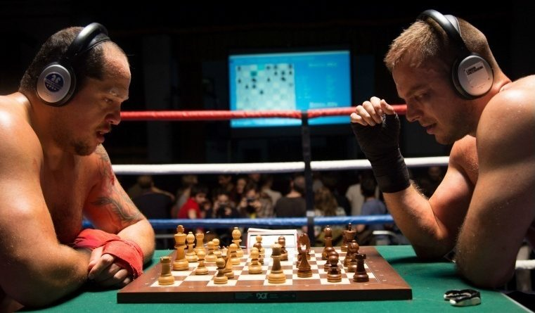 New image chessboxing TV